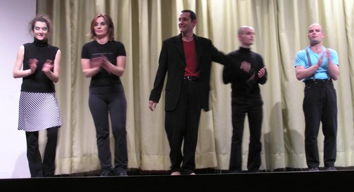 Mixcompany, debutto al Teatro San Basilio 2004